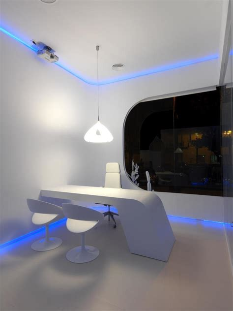 Blue Office by White Blue Modern Office White Blue Modern Office