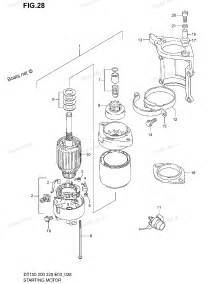 Suzuki Outboard Parts 2003 Dt225 Suzuki Marine Outboard Starting Motor Diagram