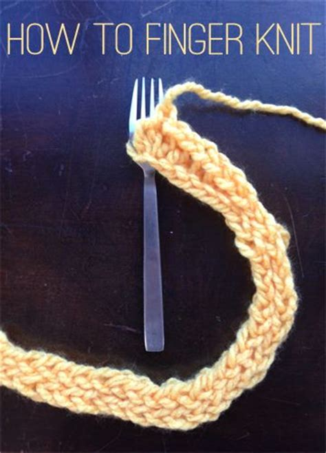 how to finger knit a blanket best 20 finger knitting projects ideas on