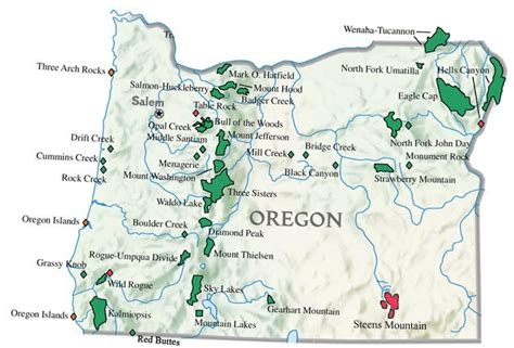 map of oregon mountains and rivers southern oregon horseback information horseback