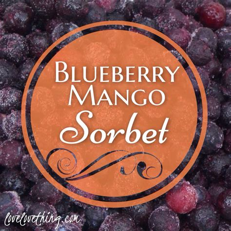 The Recipe Thing by Blueberry Mango Sorbet Recipe It S A Thing