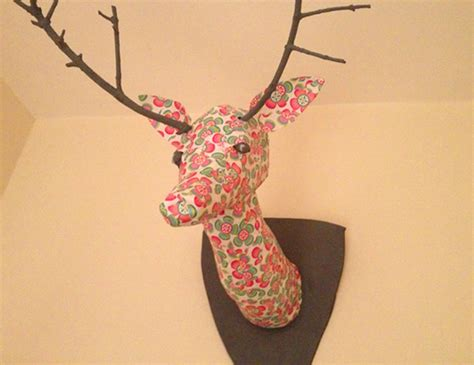 How To Make A Paper Mache Stag - 17 paper mache deer diy guide patterns