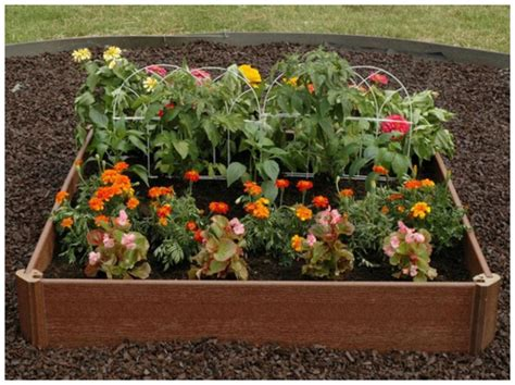 raised flower bed kits outdoor raised elevated garden bed planter box pot kit
