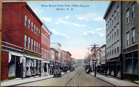 New Berlin Post Office Hours by 1910 Postcard St Downtown Post Office Square