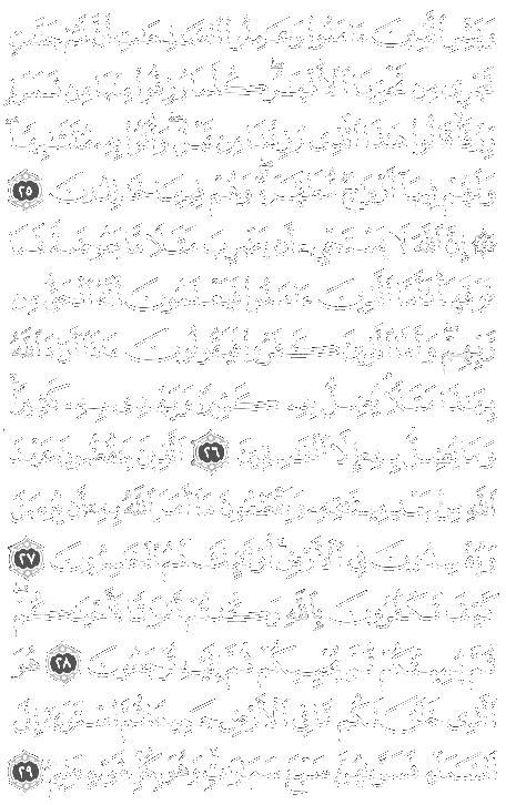 SURAH AL-BAQRA-2 Madina 40 sections. 286 verses.Ayyah 24-29