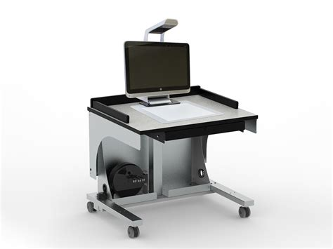 Hp Furniture by Freedom One Sit To Stand Workstation For Sprout Pro By Hp