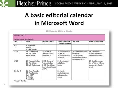 Organize Your Social Media Efforts with Editorial