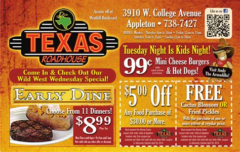 Coupons For Texas Roadhouse   2017   2018 Best Cars Reviews