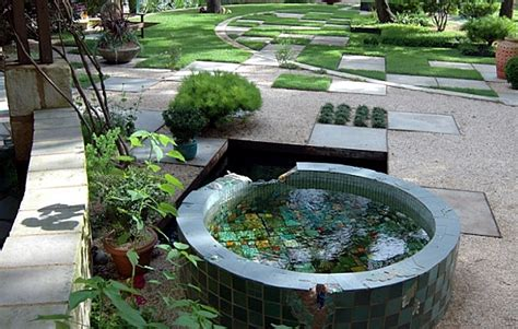 Decorating Balcony With Plants by Creating A Garden Pond Original Ideas For Modern Garden