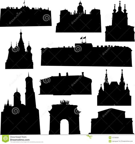 well known architects well known russia architecture royalty free stock images