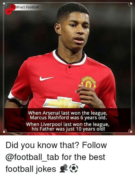 Football Memes Arsenal - 8fact football when arsenal last won the league marcus