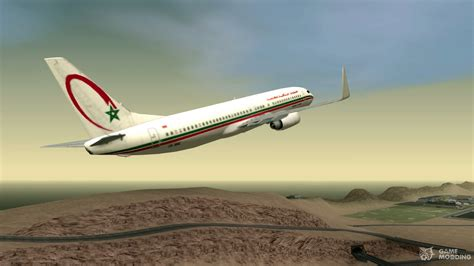boeing 737 8b6 royal air maroc ram for gta san andreas