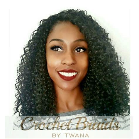 brazilian crochet hair crochet braids with kima brazilian twist in color 1b 4