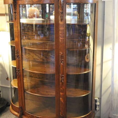 Bargain John's Antiques » Blog Archive Oak China Cabinet   carved claw feet   Bargain John's