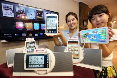 lg launches 7 inch samsung tablet called homeboy in korea
