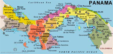 map usa panama free panama political map political map of panama
