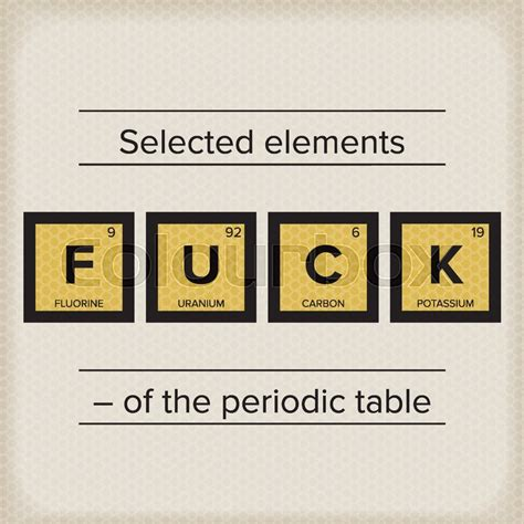 periodic table chemistry elements science statement