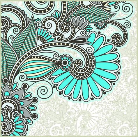 beautiful pattern background 03 vector free vector 4vector
