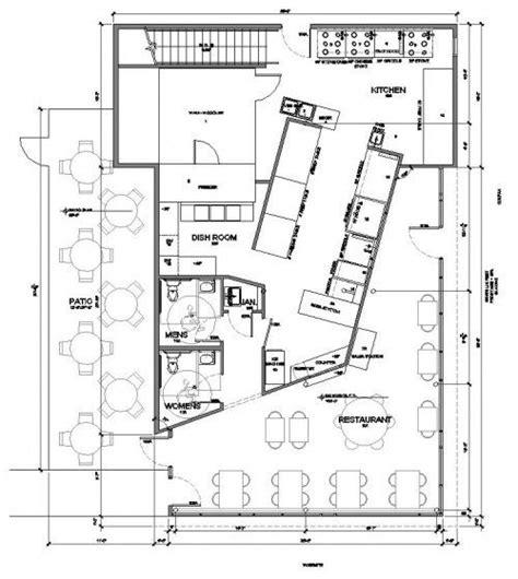 restaurant kitchen floor plan best 25 restaurant layout ideas on restaurant