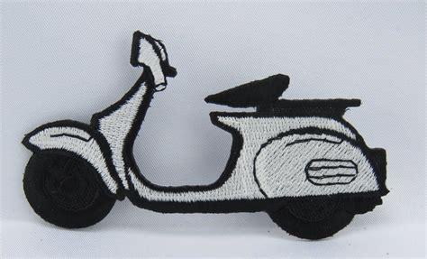 Motorrad Sticker Zum Aufb Geln by Vespa Aufb 252 Gler Stickerei Auf Der Jacke Neu