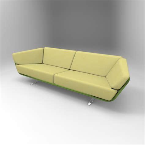 gino sofa gino 3 5 sofa 3d model formfonts 3d models textures