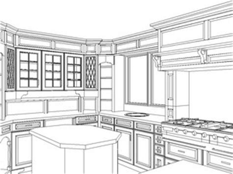 Kitchen 2 Point Perspective by Your Kitchen Floor Plan How To Visualize The Kitchen