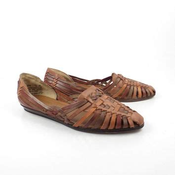 Cabin Creek Womens Shoes by Best Vintage Leather Huarache Sandals Products On Wanelo