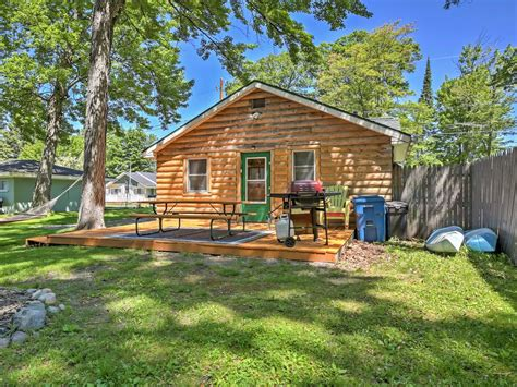 Houghton Lake Cabins For Rent by New 2br Houghton Lake Cabin W Community Dock Houghton Lake Peninsula Michigan Michigan