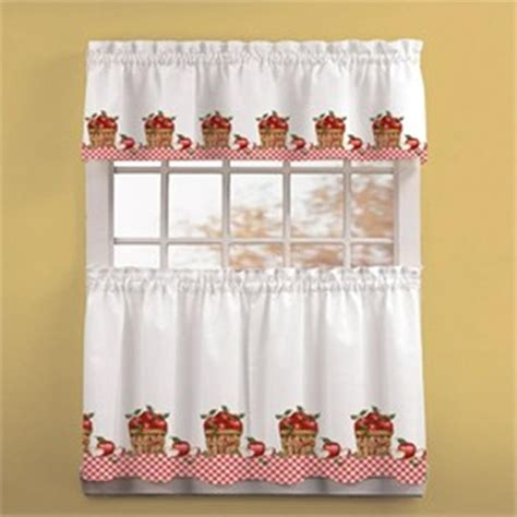 apple curtains for kitchen cortina para cocina cortinas y cenefas pinterest