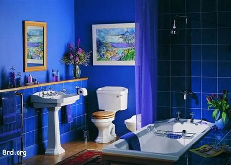 blue bathroom colors great art decoration cool blue bathroom design