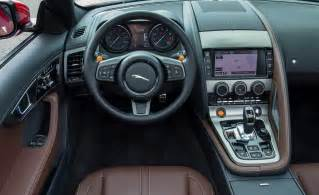 F Type Jaguar Interior Car And Driver