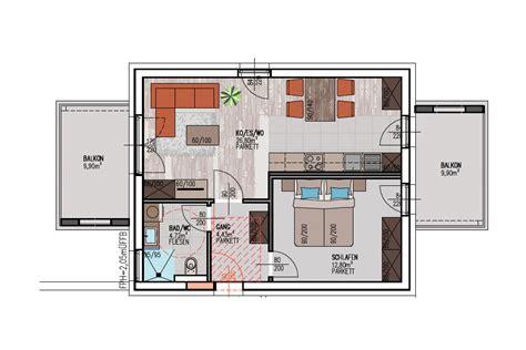 wohnung 65 m2 grundriss immoteria wohnprojekt feldkirchenwohnungen