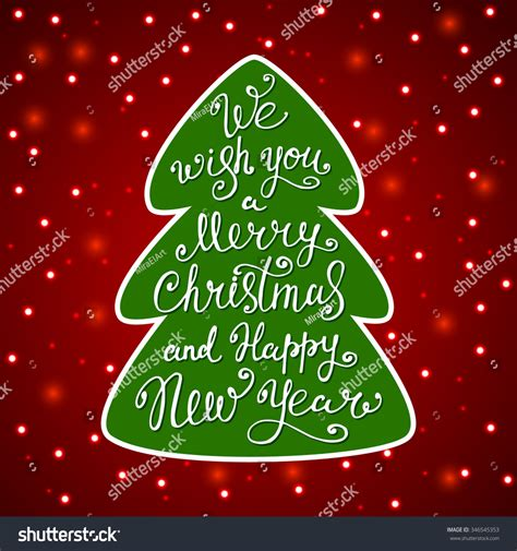 what a happy what a merry tree we wish you a merry and happy new year quote