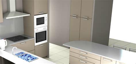 modelisation cuisine mod 233 lisation 3d de notre future cuisine sagne cuisines