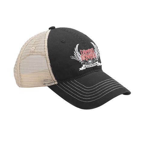 guitar hats caps lynyrd skynyrd guitars trucker hat