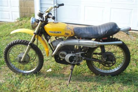 Suzuki 90 Dirt Bike Buy 1971 Suzuki Tc 90 On Dirt Bike On 2040 Motos