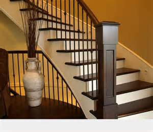 interior staircase rail bc interior stair railing