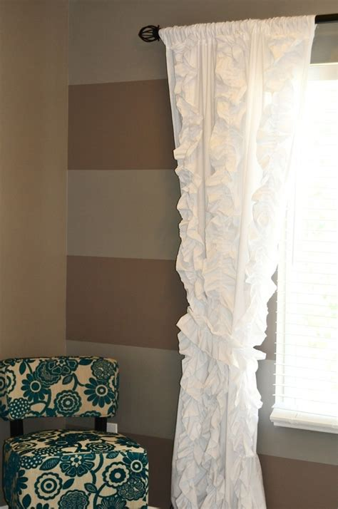 diy sheet curtains diy ruffle curtains from sheets sewing tips tricks