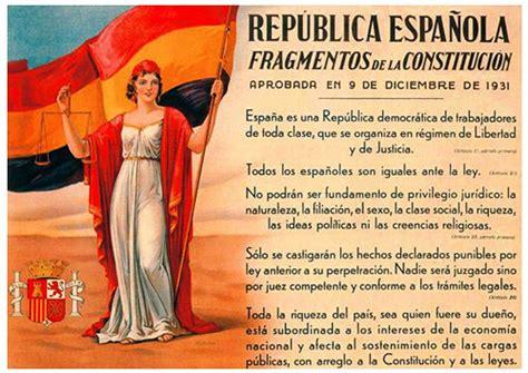la repblica espaola y 82 186 aniversario de la constituci 243 n de la segunda rep 250 blica espa 241 ola de 1931