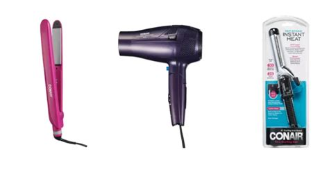 Conair Hair Dryer Curler conair straightener hair dryer or curling iron only 5 reg 19 99 frugal finds during naptime