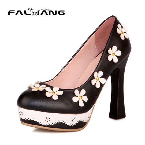 Wedges Bunga Wanita Murah Casual platform shoes size 12 beli murah platform shoes size 12
