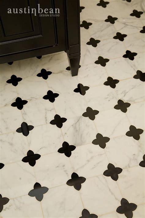 Quatrefoil Bathroom Tile Powder Room Quatrefoil Tile By Bean Design