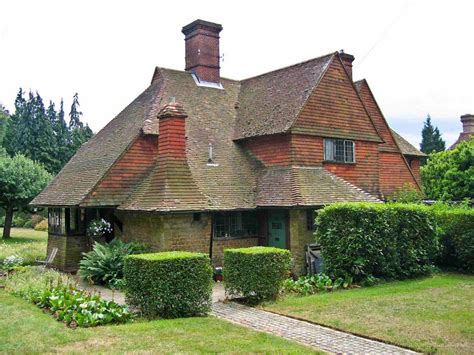 Cottages Surrey by Ten Years On Lutyens Exhibition Images Of Cottages