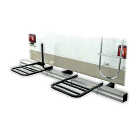 Swagman Rv Bumper Bike Rack by Swagman Bumper Mount 2 Bike Rack 157212 Carriers
