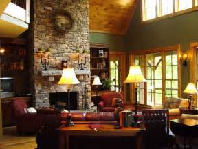 Cottage Fireplace Ideas by Decoration Cottage Home Decorating Ideas With Fireplace