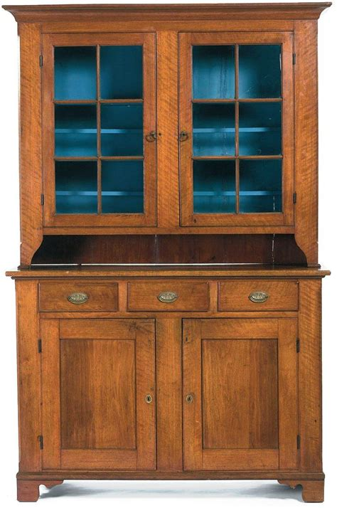 cupboards for sale one very fine 19th c american chippendale pennsylvania