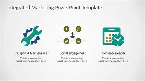Social Engagement And Content Calendar Powerpoint Clipart Slidemodel Integrated Marketing Calendar Template