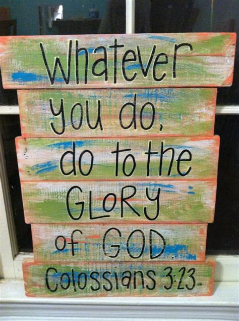 themes in god s bits of wood items similar to pallet art bible verse glory of god on