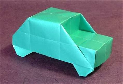 Origami Vehicle - origami cars gilad s origami page