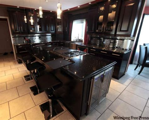 Kitchen Cabinets With Black Granite Countertops by Black Kitchen Cabinets With Black Countertops Kitchen